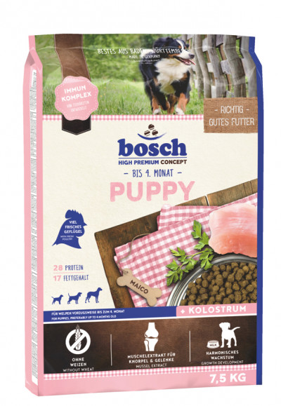 -Bosch Puppy корм для щенков всех пород 7,5кг арт.5200075
