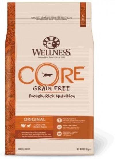 CORE корм из индейки с курицей для взрослых кошек 10 кг арт.107180