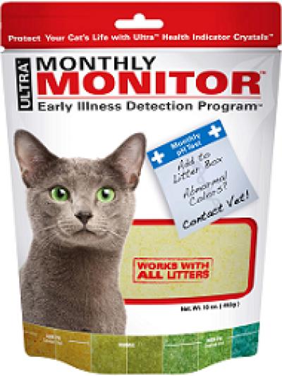 Monthly Monitor индикатор PH мочи д/кошек, 453 г