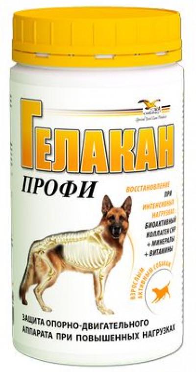 ГЕЛАКАН ПРОФИ (GELACAN) Профилактика нарушений опорно-двигательного аппарата собак 500гр арт. 12808