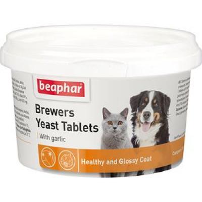 -Беафар Витамины для собак и кошек с пивными дрожжами и чесноком 250 таб