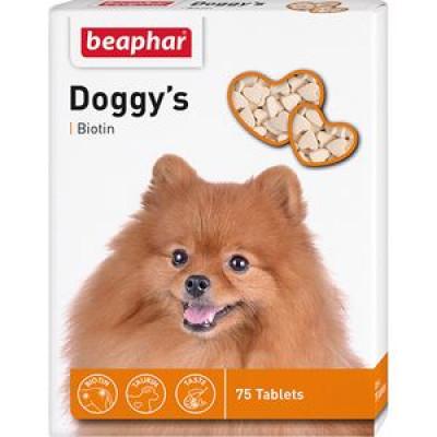 -Беафар Витамин Doggy`s+Biotin для собак 75 таб