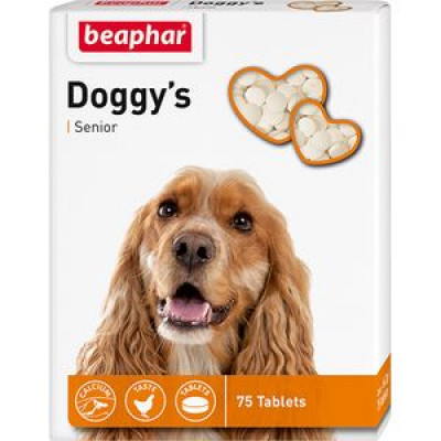 -Беафар Лакомство Senior Doggy's для собак 75 таб