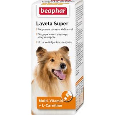 -Беафар Витамины для собак Laveta super для шерсти 50 мл