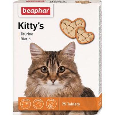 -Беафар Витамины для кошек с таурином и биотином Kitty`s+Taurine+Biotin 75 шт