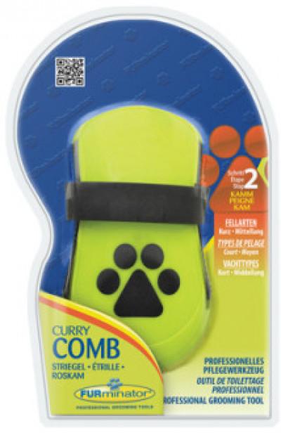 -FURminator расческа резиновая Curry Comb зубцы 5 мм (замена 140870)
