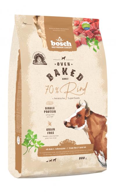 -Bosch HPC Oven Baked Rind сухой запеченный корм с говядиной для собак 0,8 кг арт.150459