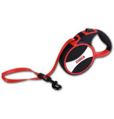 -KONG рулетка Explore L (до 50 кг) лента 7,5 метров красная