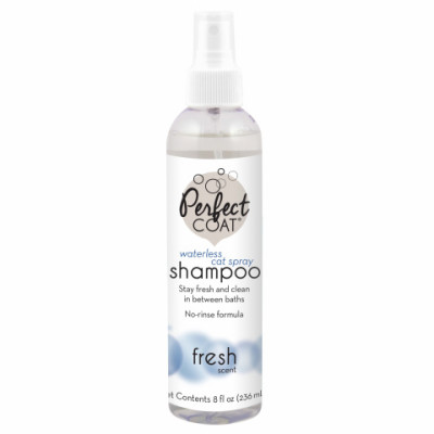 8in1 шампунь для кошек PC Waterless Shampoo без смывания с ароматом свежести спрей 236 мл