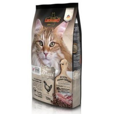 ЛЕОНАРДО Макси-крок сухой корм для кошек крупных пород 15кг