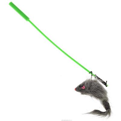 """V.I.Pet Дразнилка-удочка с игрушкой """"мышь"""""""