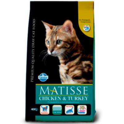 Фармина МАТИСС (Farmine Matisse) Корм для кошек Курица с Индейкой 10 кг