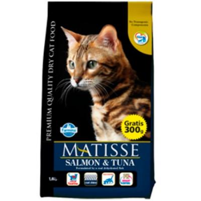 Фармина МАТИСС (Farmina Matisse) Корм для кошек Лосось с Тунцом 10 кг
