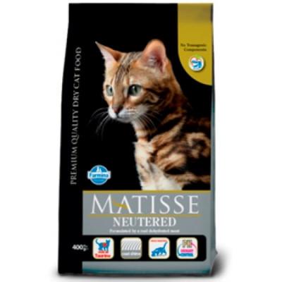 Фармина МАТИСС (Farmina Matisse) Корм для стерилизованных кошек и кастрированных котов 10 кг