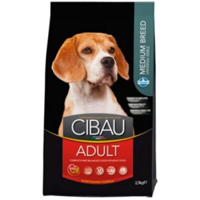 Фармина (FARMINA CIBAU ADULT) для собак Курица MEDIUM 2,5кг