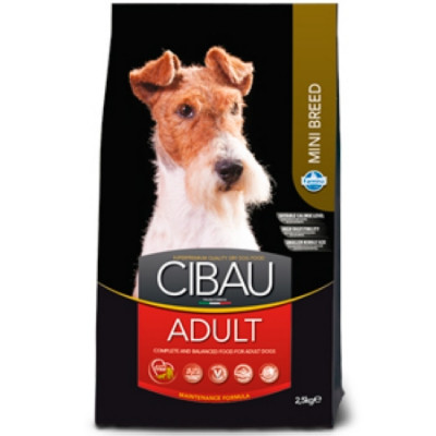 Фармина (FARMINA CIBAU ADULT) для собак Курица мини 2,5кг