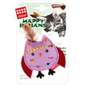 GiGwi Игрушка Сова с кошачьей мятой