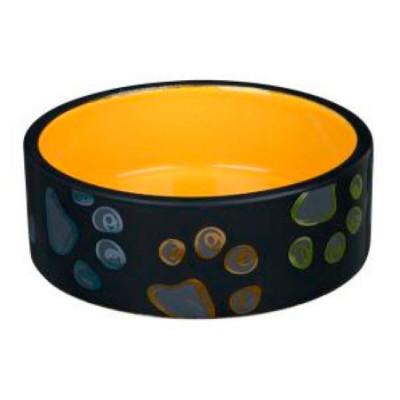 TRIXIE Миска для собак керамическая Jimmy 0,3л 12см