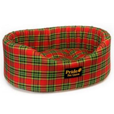 PRIDE Лежак Комфорт Шотландия (борт поролон) состав 40% шерсть 45х39х17 см