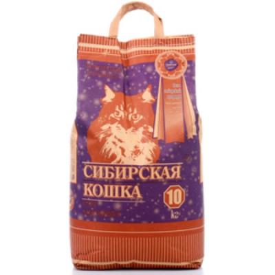 Сибирская Кошка Наполнитель Супер 10л комкующийся