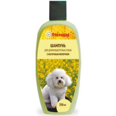 Пчелодар Шампунь с маточным молочком для длинношерстных собак 250мл