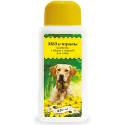 Пчелодар Шампунь с мёдом и чередой для собак 250мл
