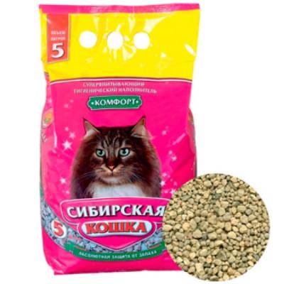 Сибирская Кошка Наполнитель Комфорт 5л