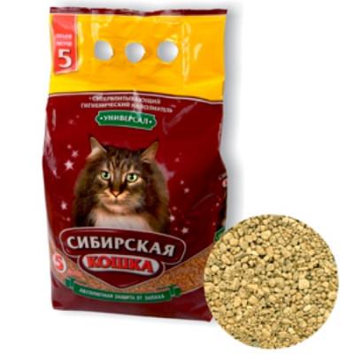 Сибирская Кошка Наполнитель Универсал 5л