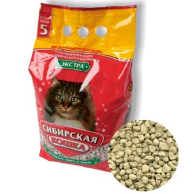 Сибирская Кошка Наполнитель Экстра 5л для длинношерстных кошек