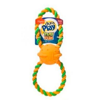 Hartz Игрушка для собак Двойное кольцо латекс с наполнителем большая