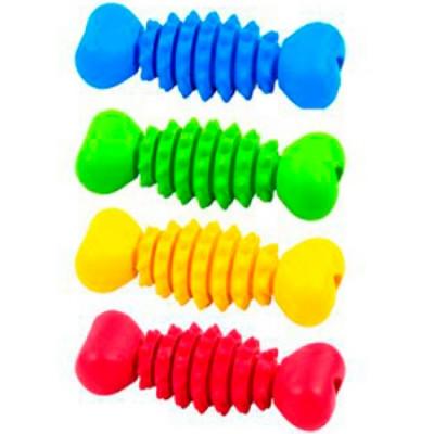 J.W. Игрушка для собак Косточка с шипами, каучук