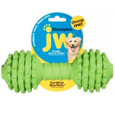 J.W. Игрушка для собак  Гантель с шипами каучук, большая