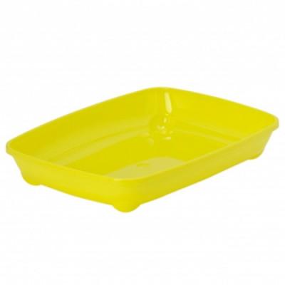 Moderna Туалет открытый arist-o-tray для котят лимон 37х28х6 см