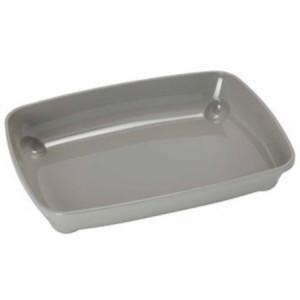 Moderna открытый туалет arist-o-tray для котят светло-серый  37х28х6 см