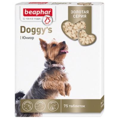 Беафар Золотая линейка Витамины для щенков Doggy's Junior 75т