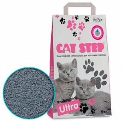 Cat Step  Наполнитель комкующийся Professional Ultra  5кг