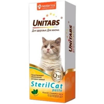 UNITABS SterilCat Паста для кастрированных котов и стерилизованных кошек 150гр