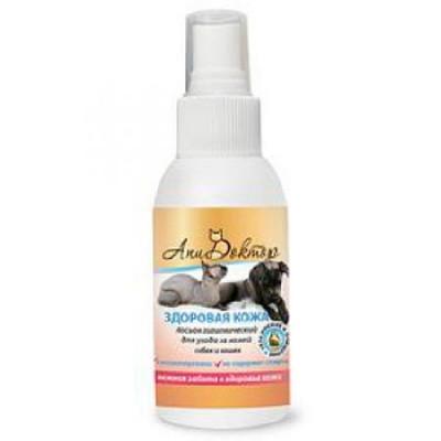 Пчелодар Здоровая кожа лосьон гигиенический для очистки кожи собак и кошек