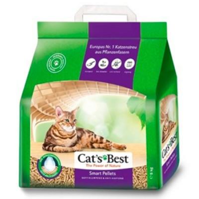 Наполнитель Cat's Best Smart Pellets 10л 5кг Древесный комкующийся