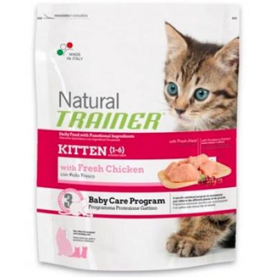 -Trainer Сухой корм Natural Kitten для котят от 1 до 6 месяцев 300гр