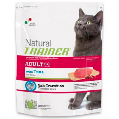 -Trainer Сухой корм Natural Adult Tuna для взрослых кошек с тунцом 300гр