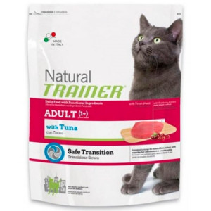 -Trainer Сухой корм Natural Adult Tuna для взрослых кошек с тунцом 1,5кг