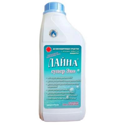 ЛАЙНА  дезинфицирующее средство для собак Супер Эко 1л