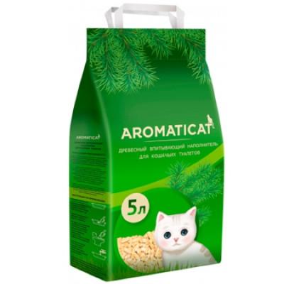 AromatiCat древесный наполнитель 5л