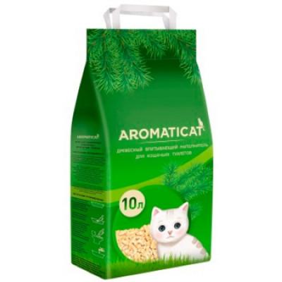 AromatiCat древесный наполнитель 10л