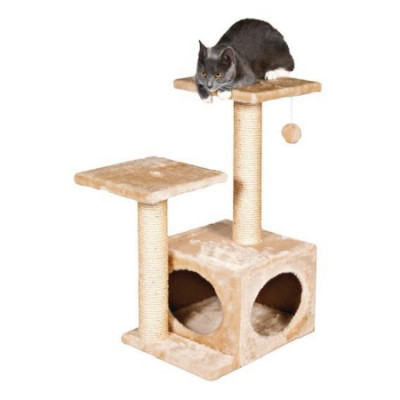 "-TRIXIE Домик для кошек ""Velencia"" бежевый высота 71см"