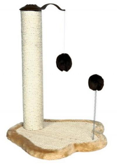 "TRIXIE Когтеточка для кошек ""Лапка со столбиком"" 50см"