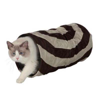 TRIXIE Тоннель для кошки шуршащий  нейлон 50см х ф25см