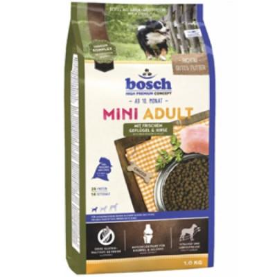 Bosch Mini Adult Птица и просо сухой корм для собак 1 кг арт.5206001