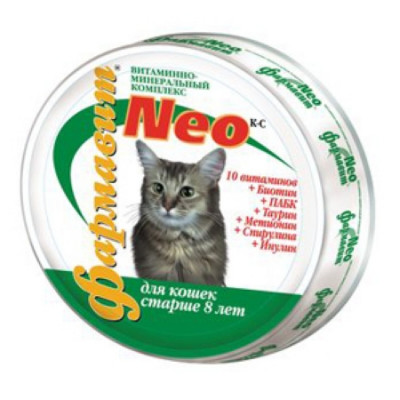 ФН-115 Фармавит НЕО для Стареющих кошек 60 таб